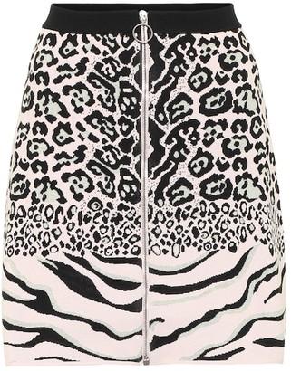 Stella McCartney Jacquard knit skirt