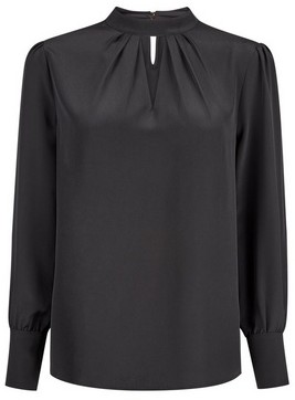 Dorothy Perkins Womens Black Honey Long Sleeve Top, Black