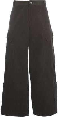 Jacquemus Le Pantalon Quadri Cargo Trousers