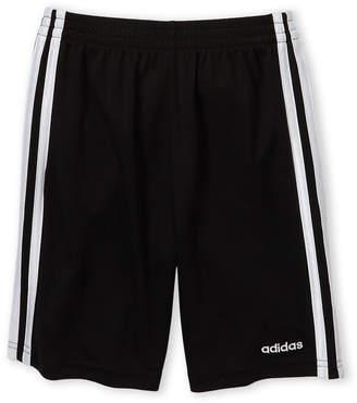 adidas Boys 4-7) 3 Stripe Mesh Shorts