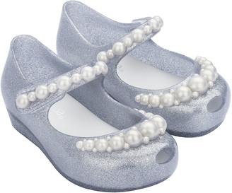 Mini Melissa Ultragirl Girly Pearl Mary Janes, Baby/Toddler