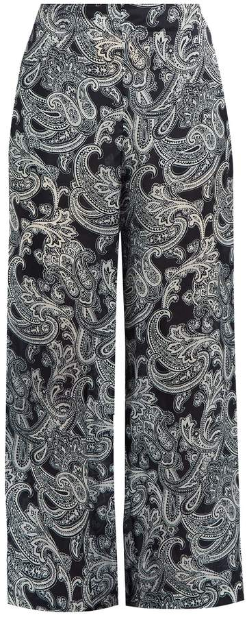 Acne Studios Tennessee paisley-print wide-leg trousers