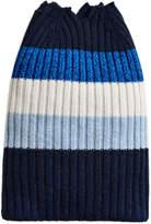 Burberry cashmere striped beanie