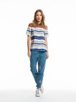 Scotch & Soda Striped Silk Shirt
