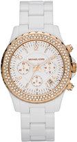Michael Kors Acrylic Glitz Watch
