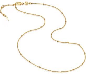 Missoma Short Bobble Chain 18kt gold vermeil necklace
