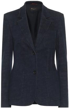Loro Piana Daireen stretch-cotton blazer