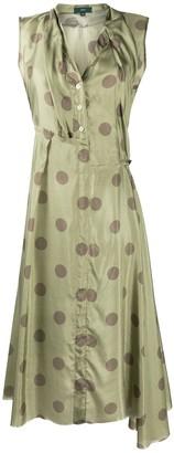Jejia Polka Dot Print Shirt Dress