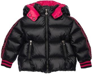 Moncler Nylon Laque Down Jacket