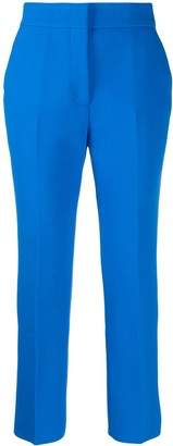 MSGM high-rise cropped trousers