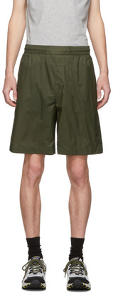Acne Studios Green Ripstop Shorts