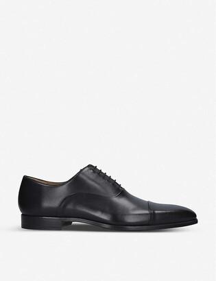 Magnanni Toe cap leather oxford shoes