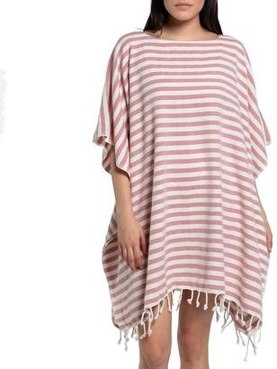 Slate & Salt Nautical Stripe Rose Turkish Tunic