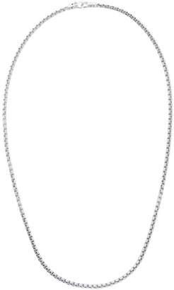 Tom Wood Silver Venetian Chain Single M Necklace