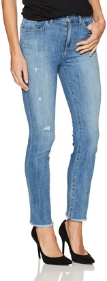 SIWY Women's Jackie High-Waisted Slim Straight Jeans in The Look of Love 27