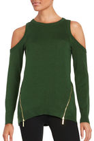 MICHAEL Michael Kors Cold Shoulder Sweater