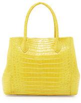 Nancy Gonzalez Crocodile Medium Convertible Tote Bag