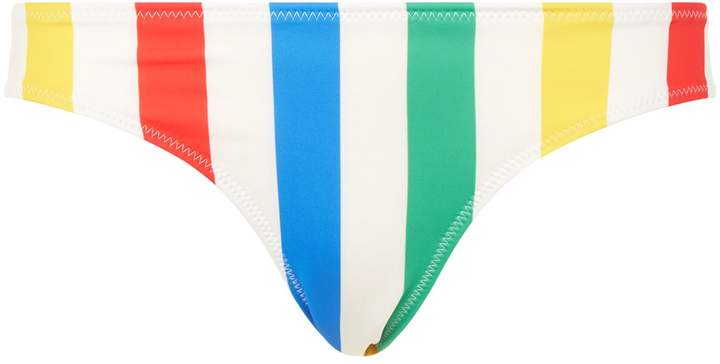 Solid & Striped Elle Stripe Bikini Bottom