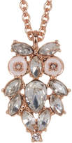 Kate Spade Wise Owl Crystal Cluster Owl Pendant Necklace