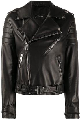 Manokhi Paris multi-zip detail jacket