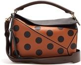 Loewe Puzzle polka-dot leather bag