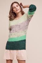 AILANTO Evany Open-Knit Pullover