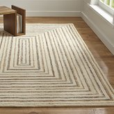 Crate & Barrel Ellwood Wool-Blend Rug