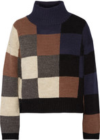 Current/Elliott The Boxy knitted turtleneck sweater