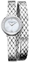 Baume & Mercier Petite Promesse Stainless Steel Wrap-Around Watch