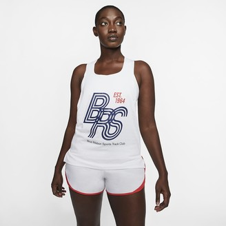 Nike Running Singlet AeroSwift Blue Ribbon Sports
