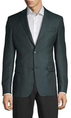 Versace Jacquard Wool Sportcoat