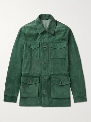 Valstar Suede Field Jacket - Men - Green