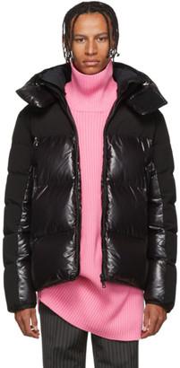 Moncler Black Down Blanc Jacket