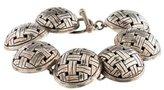 John Hardy Woven Disc Bracelet