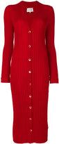 Maison Margiela long ribbed cardigan - women - Wool - S
