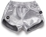 Nununu Youth Girl's Gym Shorts - Silver