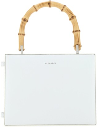 Jil Sander Bamboo Handle Handbag