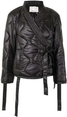 3.1 Phillip Lim Kimono-Style Padded Jacket