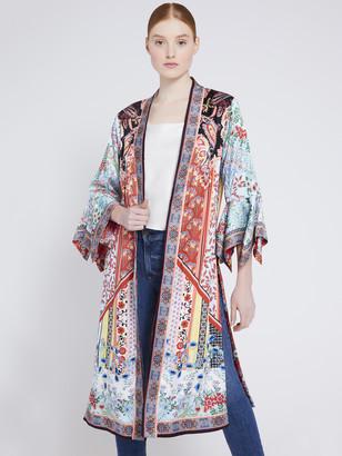 Alice + Olivia Lynn Reversible Floral Kimono