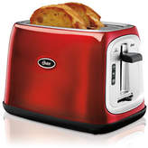 Oster Metallic Red 2 Slice Extra-Wide Slot Toaster