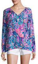 Lilly Pulitzer Willa Long Sleeve Top