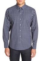 Zachary Prell Men's 'Albert' Trim Fit Plaid Sport Shirt