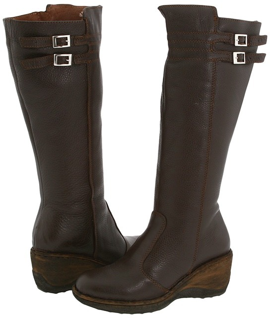 Lassen Kansas Wide Calf 5411 (Coffee) - Footwear