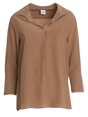 Aspesi Silk Polo Shirt