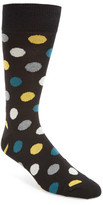 Bugatchi Large Dot Socks