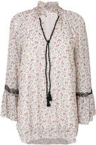 See by Chloé rose print blouse