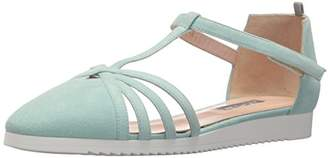 Sarah Jessica Parker Women's Meteor Closed Toe Ankle Strap Flat