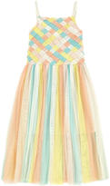 Billieblush Braided tulle dress