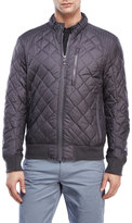 Andrew Marc Delancey Quilted Bomber Jacket
