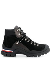 Tommy Hilfiger leather lace-up ankle boots